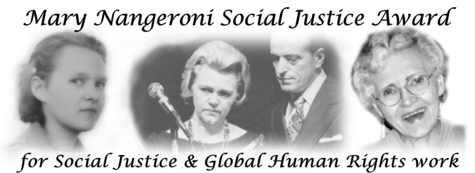 Mary Nangeroni Social Justice Award
